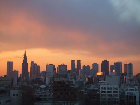 Skyline von Shinjuku(Tokyo)